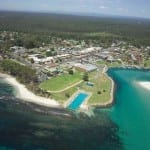 View of Huskisson, Gateway to Jervis Bay